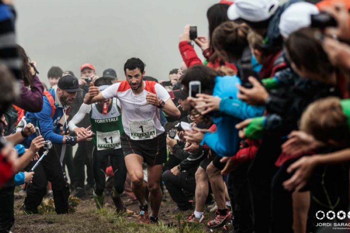 Record and seventh victory in zegama