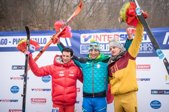 Silver medal ski mountaineering world champs