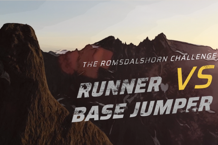BASE VS RUNNER The Romsdalshorn Challenge